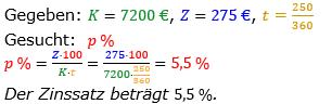 Zinsrechnung vermischte Aufgaben Lösungen zum Aufgabensatz 09 Blatt 02 Bild A0209L01/© by www.fit-in-mathe-online.de