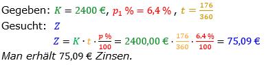Zinsrechnung vermischte Aufgaben Lösungen zum Aufgabensatz 12 Blatt 02 Bild A0212L01/© by www.fit-in-mathe-online.de