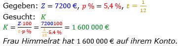 Zinsrechnung vermischte Aufgaben Lösungen zum Aufgabensatz 15 Blatt 02 Bild A0215L01/© by www.fit-in-mathe-online.de