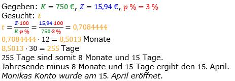 Zinsrechnung vermischte Aufgaben Lösungen zum Aufgabensatz 02 Blatt 03 Bild A0302L01/© by www.fit-in-mathe-online.de