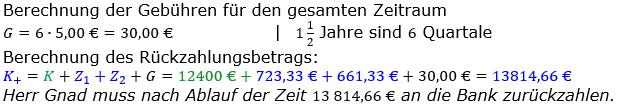 Zinsrechnung vermischte Aufgaben Lösungen zum Aufgabensatz 05 Blatt 04 Bild A0405L02/© by www.fit-in-mathe-online.de