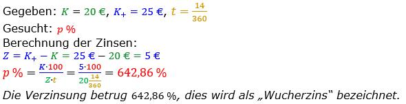 Zinsrechnung vermischte Aufgaben Lösungen zum Aufgabensatz 09 Blatt 04 Bild A0409L01/© by www.fit-in-mathe-online.de