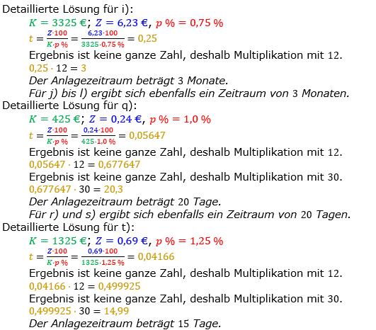 Zinsrechnung Zeitraum berechnen Lösungen zum Aufgabensatz 01 Blatt 1/1 Grundlagen Bild A1102L02/© by www.fit-in-mathe-online.de