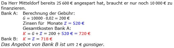 Zinsrechnung Zinssatz berechnen Lösungen zum Aufgabensatz 10 Blatt 2/2 Fortgeschritten Bild A2210L01/© by www.fit-in-mathe-online.de