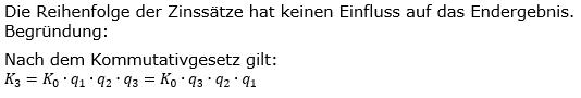 Zinseszinses Kapitalentwicklung Lösungen zum Aufgabensatz 5 Blatt 2/2 Fortgeschritten Bild 1/© by www.fit-in-mathe-online.de