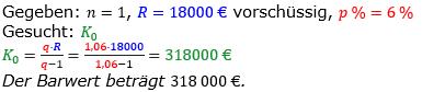 Rentenrechnung Lösungen zum Aufgabensatz 3 Blatt 2/3 Fortgeschritten/© by www.fit-in-mathe-online.de