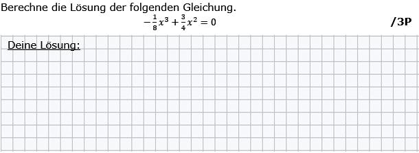 Berechne die Lösung der folgenden Gleichung (Grafik g8k12/W01A0201 im Aufgabensatz 2 Wochenblatt 01 Kursstufe 2 Prüfungsvorbereitung Abitur) /© by www.fit-in-mathe-online.de)