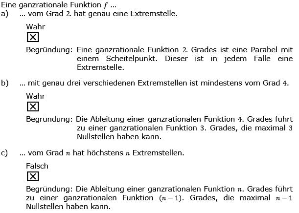 Aufgabensatz 3 Wochenblatt 01 Kursstufe 2 Prüfungsvorbereitung Abitur Lösung Bild g8k12/W01A03L01/© by www.fit-in-mathe-online.de