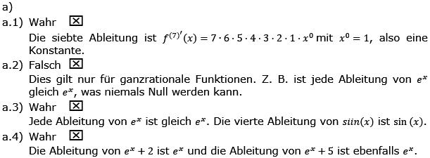 Aufgabensatz 1 Wochenblatt 04 Kursstufe 2 Prüfungsvorbereitung Abitur Lösung Bild g8k12/W04A01L02/© by www.fit-in-mathe-online.de