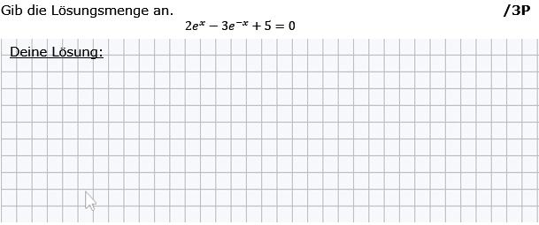 Gib die Lösungsmenge an. (Grafik g8k12/W09A0201 im Aufgabensatz 2 Wochenblatt 09 Kursstufe 2 Prüfungsvorbereitung Abitur) /© by www.fit-in-mathe-online.de)
