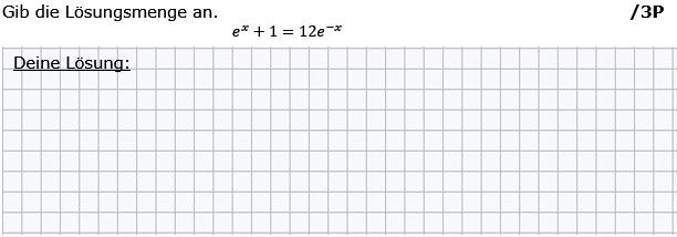 Gib die Lösungsmenge an. (Grafik g8k12/W11A0201 im Aufgabensatz 2 Wochenblatt 11 Kursstufe 2 Prüfungsvorbereitung Abitur) /© by www.fit-in-mathe-online.de)