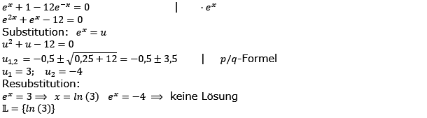 Aufgabensatz 2 Wochenblatt 11 Kursstufe 2 Prüfungsvorbereitung Abitur Lösung Bild g8k12/W11A02L01/© by www.fit-in-mathe-online.de