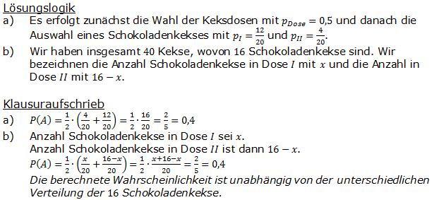 Urnenmodelle in der Stochastik Lösungen zum Aufgabensatz 2 Blatt 1/1 Grundlagen Bild 1 /© by www.fit-in-mathe-online.de)