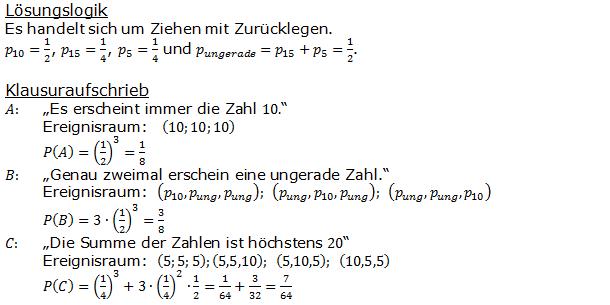 Urnenmodelle in der Stochastik Lösungen zum Aufgabensatz 8 Blatt 1/1 Grundlagen Bild 1 /© by www.fit-in-mathe-online.de)