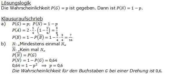 Stochastik Urnenmodelle Lösungen zum Aufgabensatz 18 Blatt 1/2 Grundlagen Bild A1218L012/© by www.fit-in-mathe-online.de