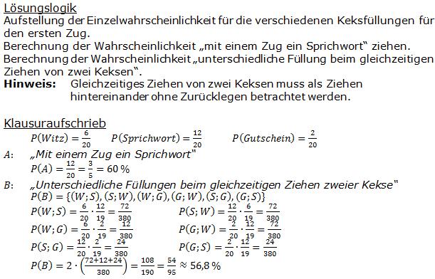 Stochastik Urnenmodelle Lösungen zum Aufgabensatz 24 Blatt 1/3 Grundlagen Bild A1324L01/© by www.fit-in-mathe-online.de