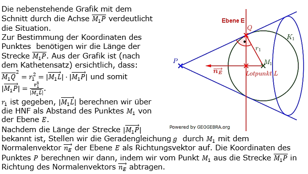 Kreis und Kugel Logik zum Aufgabensatz 2 Blatt 3/1 Expert Bild 1/© by www.fit-in-mathe-online.de