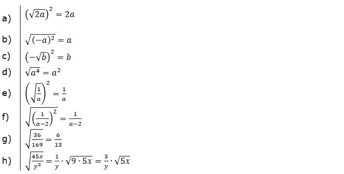 Vermischte Aufgaben mit Wurzeln Lösungen zum Aufgabensatz 1 Blatt 01© by www.fit-in-mathe-online.de