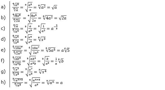 Vermischte Aufgaben mit Wurzeln Lösungen zum Aufgabensatz 1 Blatt 04© by www.fit-in-mathe-online.de
