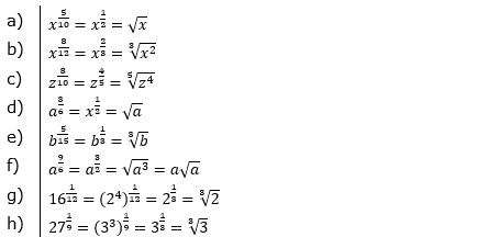 Vermischte Aufgaben mit Wurzeln Lösungen zum Aufgabensatz 2 Blatt 04© by www.fit-in-mathe-online.de