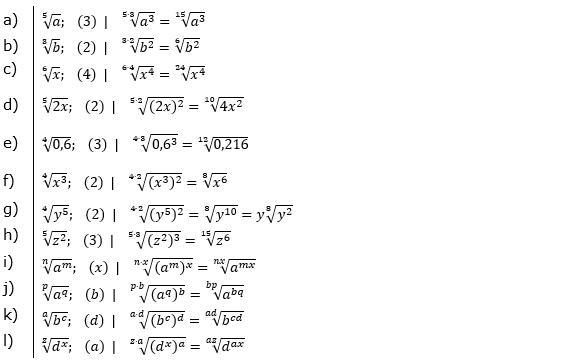 Vermischte Aufgaben mit Wurzeln Lösungen zum Aufgabensatz 3 Blatt 04© by www.fit-in-mathe-online.de