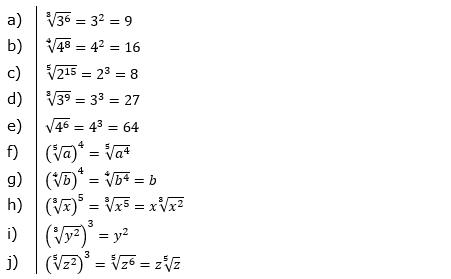 Vermischte Aufgaben mit Wurzeln Lösungen zum Aufgabensatz 1 Blatt 05© by www.fit-in-mathe-online.de