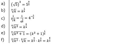 Vermischte Aufgaben mit Wurzeln Lösungen zum Aufgabensatz 3 Blatt 09© by www.fit-in-mathe-online.de