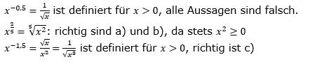 Vermischte Aufgaben mit Wurzeln Lösungen zum Aufgabensatz 7 Blatt 09© by www.fit-in-mathe-online.de